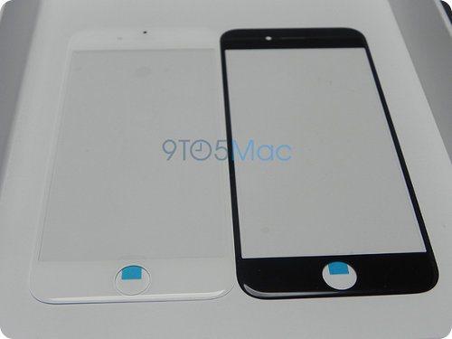Este sería el panel frontal del iPhone 6