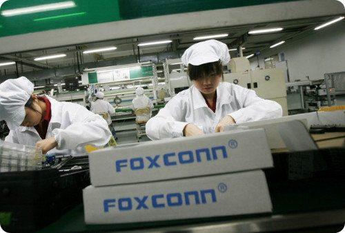 Foxconn usará robots en la producción del iPhone 6