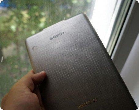La Galaxy Tab S se sobrecalienta
