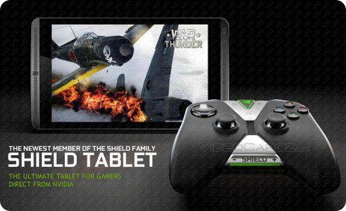 La NVIDIA Shield Tablet sería anunciada mañana