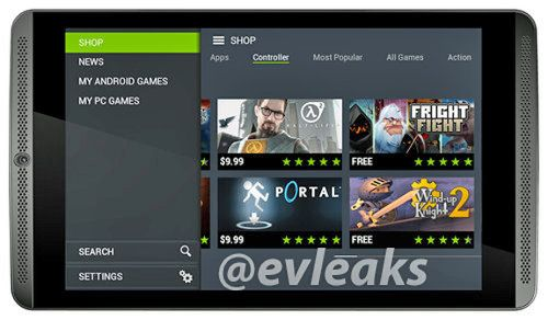 Se filtra la primera imagen de la Nvidia Shield Tablet