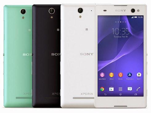 Sony Xperia C3: el smartphone orientado para selfies
