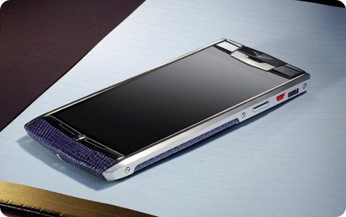 Vertu lanzará 5 smartphones de lujo