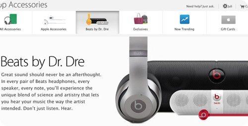 Apple añade nueva sección a su tienda online Beats by Dr Dre