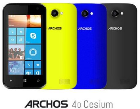 Archos anuncia su primer smartphone con Windows Phone 8.1