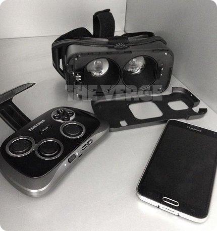 Así es el casco VR de Samsung