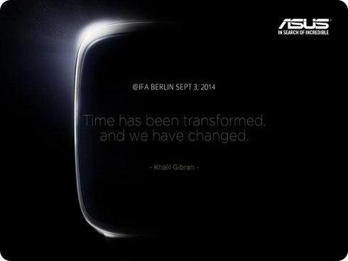 Asus presentará su smartwatch en la IFA 2014