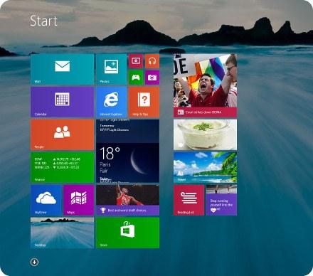 Detalles de la próxima actualización de Windows 8.1