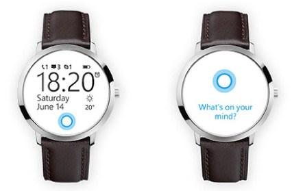 Diseño conceptual del smartwatch de Microsoft