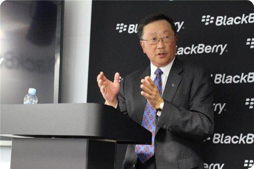 El CEO de BlackBerry dice que es hora de mirar al futuro