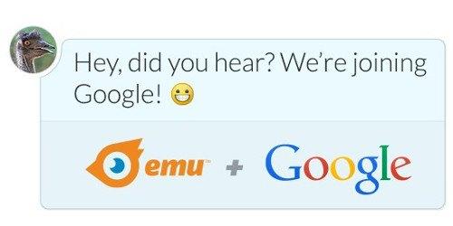 Google adquiere el servicio de mensajería Emu