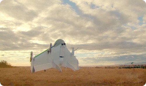 Google revela Project Wing: su proyecto secreto de envíos mediante drones