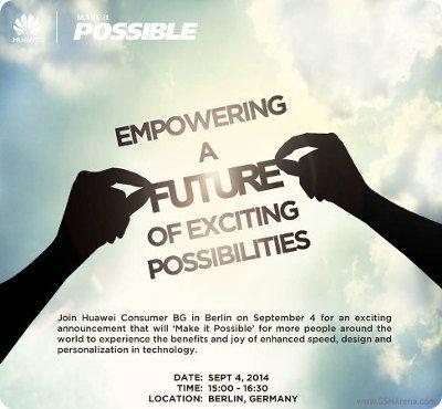 Huawei anuncia un nuevo evento para el 4 de septiembre