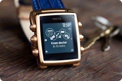 Meta Watch anuncia novedades sobre el Meta M1