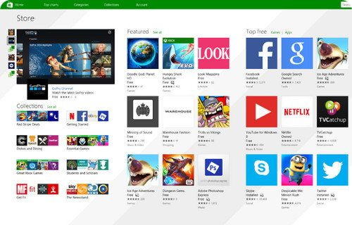 Microsoft elimina 1500 apps de la Windows Store