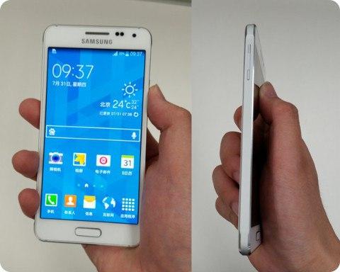 Se filtran fotos del Samsung Galaxy Alpha