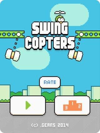 Swing Copters: lo nuevo del creador de Flappy Bird