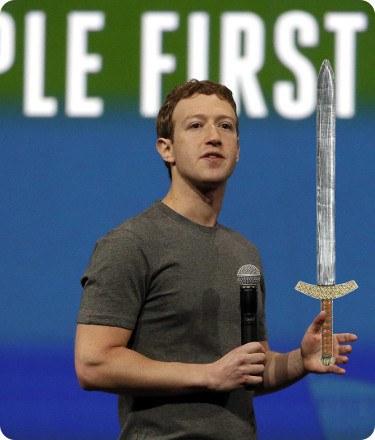 Zuckerberg solía amenazar a sus empleados con una espada