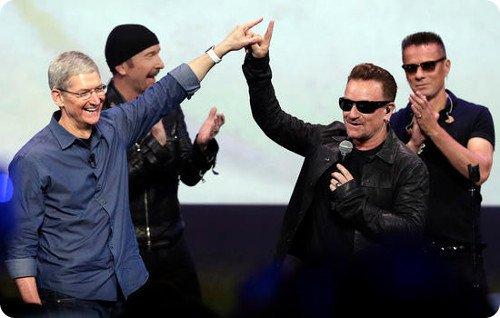 Apple pagó más de $100 millones de dólares a U2