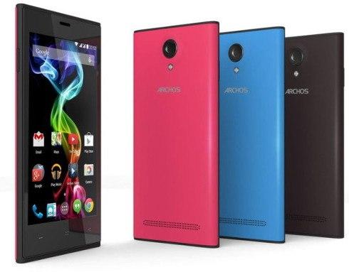 Archos presenta sus nuevos smartphones de gama media y de bajo costo