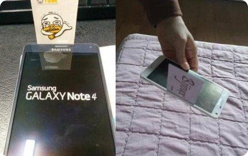 El Samsung Galaxy Note 4 también presenta fallos en su diseño