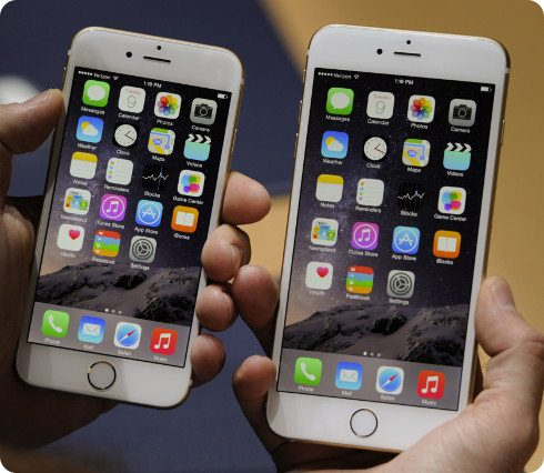 El iPhone 6 está superando al iPhone 6 Plus