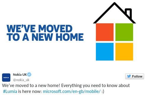 El sitio de Nokia comienza a migrarse lentamente