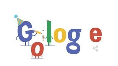 Google Doodle cumple 16 años