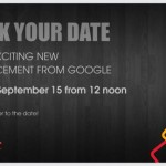 Google anuncia nuevo evento para el 15 de septiembre