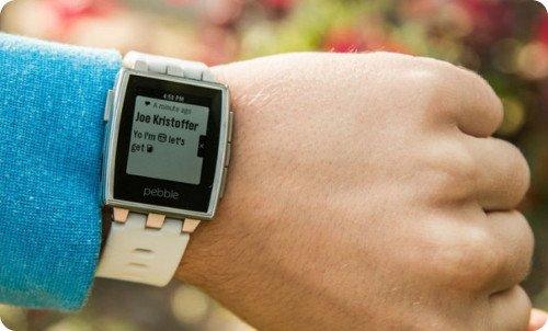 Pebble recibe nueva actualización para ser compatible con iOS 8