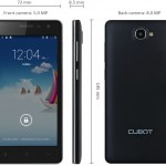 Nuevo Phablet Cubot S168 con Android 4.4
