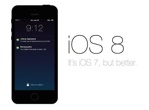 iOS 8 tiene una adopción del 46%
