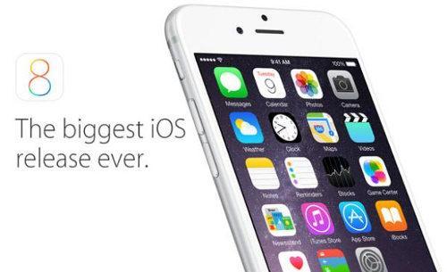 iOS 8 ya está disponible