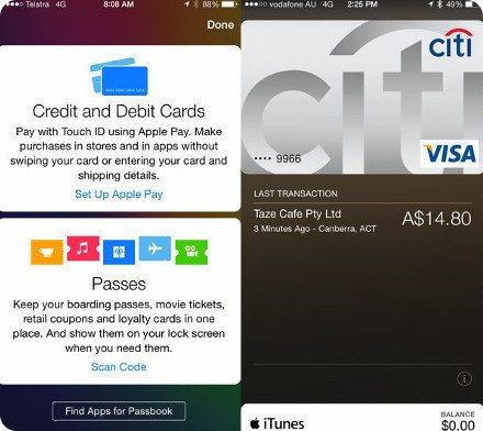 Apple Pay puede ser utilizado fuera de Estados Unidos