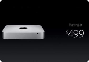Detalles de la nueva Mac Mini de Apple