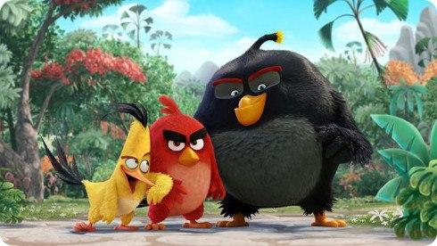 Detalles de la película de Angry Birds