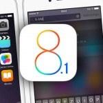 Disponible iOS 8.1: aquí sus novedades