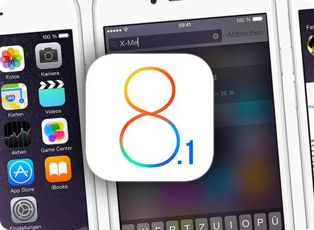 Disponible iOS 8.1