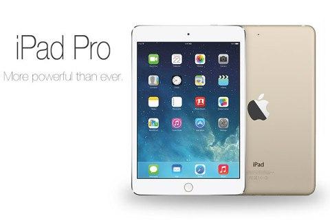 El iPad de 12,9 pulgadas llegará recién en 2015