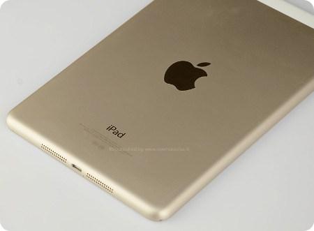 El iPad será lanzado en color dorado