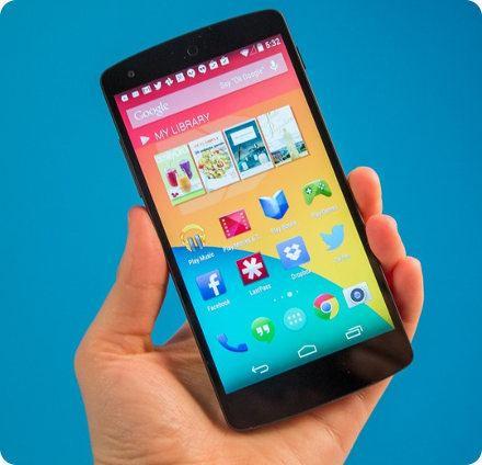 El phablet Nexus sería lanzado este mes