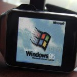 Este smartwatch corre con Windows 95
