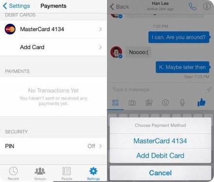 Facebook introducirá un sistema de pagos