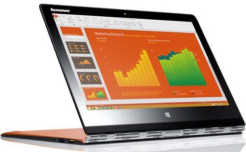 Lenovo lanza la Yoga 3 Pro