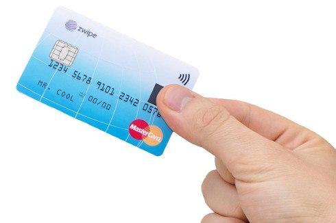 MasterCard lanzará tarjeta de crédito con lector de huellas dactilares