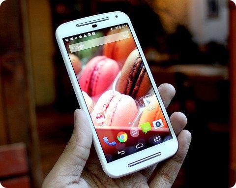 Moto G aún es considerado el mejor móvil de gama baja