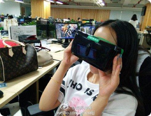 Oppo también trabaja en un casco VR