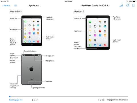 Se filtran imágenes del iPad Air 2 y Mini 3