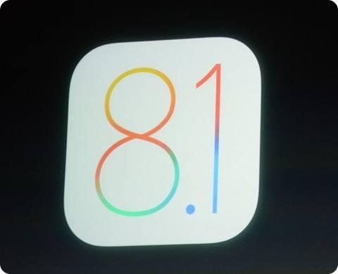 iOS 8.1 será lanzado el 20 de octubre