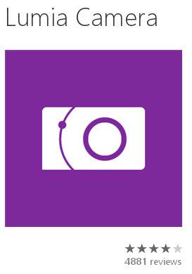 La aplicación Nokia Camera ahora se llama Lumia Camera